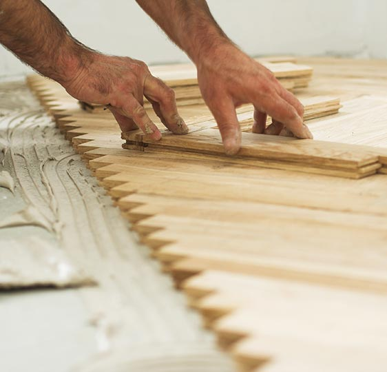 Buben Raum & Design – Gewerbekunden – Linoleum verlegen