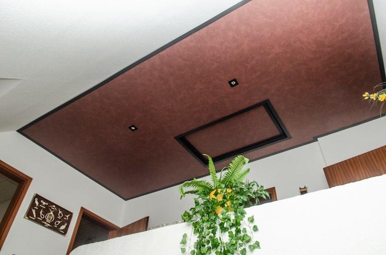 Kundenreferenz – Spanndecke Dachboden Luke – Buben Raum und Design
