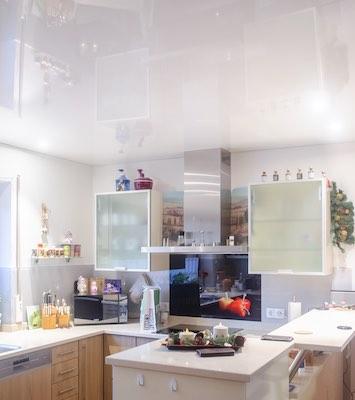 Referenz Teaser Küche Spanndecke Himmel – Buben Raum und Design